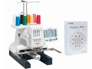 Hafciarka komputerowa JANOME MB-4S + Program Digitizer MBX 5.0
