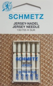 Igły SCHMETZ do jerseyu 130/705 H SUK VHS MIX