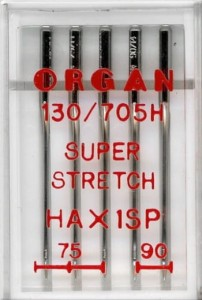 Igły półpłaskie Organ HAx1SP do stretchu mix 75-90