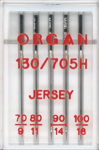 Igły Organ do jerseyu 70-100